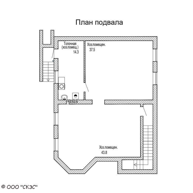 план погреба