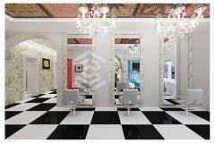 Дизайн интерьера для салона красоты