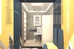 Дизайн проект офиса строительной компании