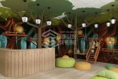 Дизайн интерьера для детского развлекательного центра