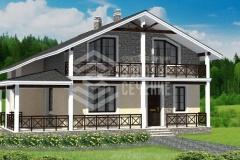 Проект двухэтажного дома «Семейные ценности»