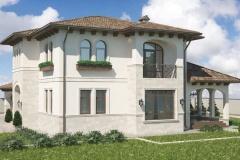 2-этажный дом «Средиземноморская легкость»
