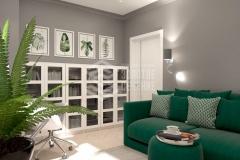Дизайн интерьера 3-комнатной квартиры