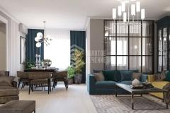 Дизайн интерьера 4-комнатной квартиры