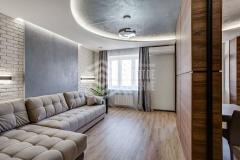 Ремонт 2-комнатной квартиры «Крепкий орешек»