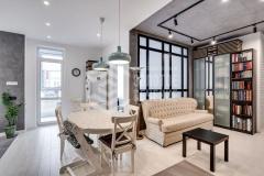 Ремонт 3-комнатной квартиры «Скандинавский лофт»
